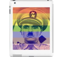 the great dictator charlie chaplin  iPad Case/Skin