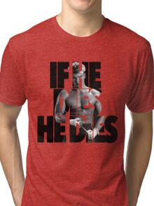 Ivan Drago T-Shirt (If he dies, he dies) Tri-blend T-Shirt