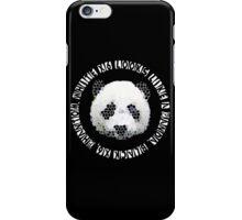 DESIIGNER PANDA iPhone Case/Skin