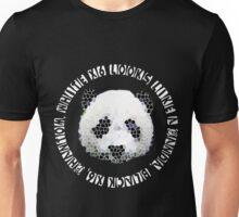 DESIIGNER PANDA Unisex T-Shirt