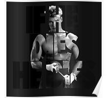 Ivan Drago T-Shirt (If he dies, he dies) Poster