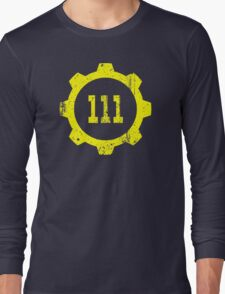 Vault 111 Long Sleeve T-Shirt