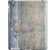 Vintage Pictorial Map of Chicago (1857) iPad Case/Skin
