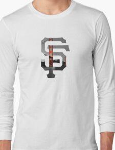 SF Giants White Long Sleeve T-Shirt