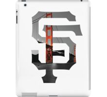 SF Giants White iPad Case/Skin