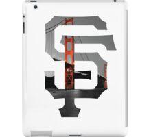 SF Giants White iPad Case/Skin