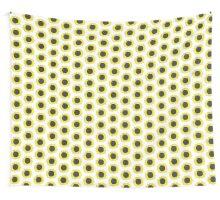 Lino Cut Sunflower Wall Tapestry