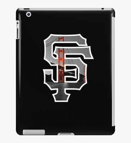 SF Giants Black iPad Case/Skin