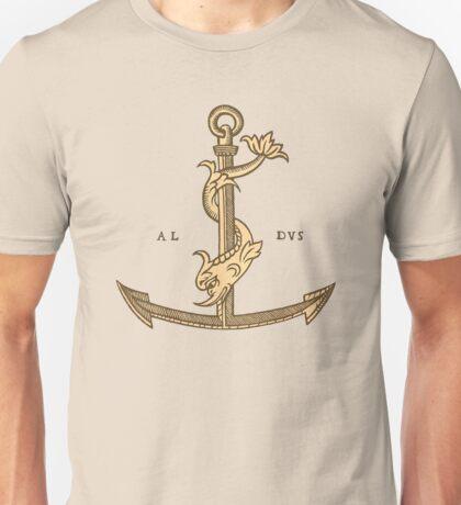 Aldus Manutius Printer Mark Unisex T-Shirt
