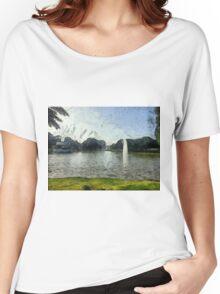 The park in Ramat Gan Women's Relaxed Fit T-Shirt