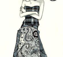 Eleanor Deer In Tuxedo Sticker