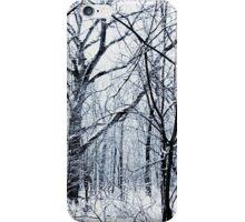 Quiet Winter Snowy Woods iPhone Case/Skin