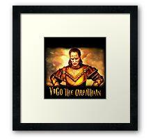 vigo the carpathian- Ghostbusters Framed Print
