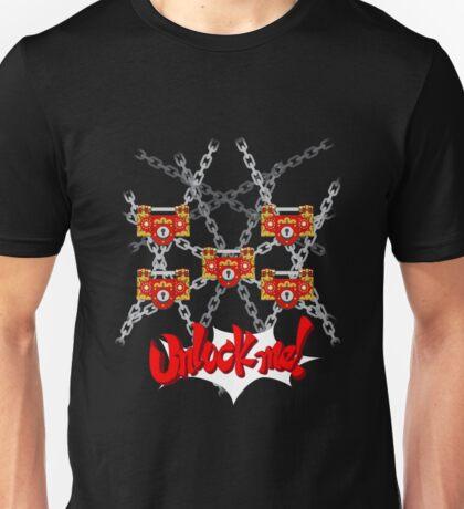 Unlock me! Unisex T-Shirt