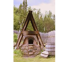 Old Stone Oven Photographic Print