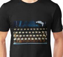 Antique Typewriter Keyboard Unisex T-Shirt
