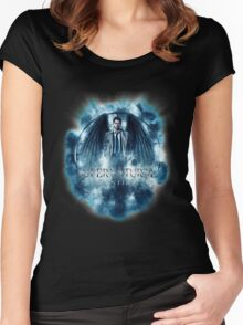 Supernatural Castiel Storm Women's Fitted Scoop T-Shirt