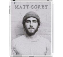 Matt Corby iPad Case/Skin