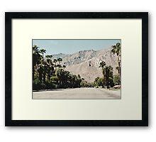 The San Jacinto Mountains (Palm Springs) Framed Print