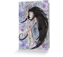 Dreamer Girl Greeting Card
