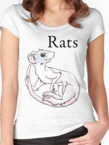 Jinx Rat Women's Fitted Scoop T-Shirt