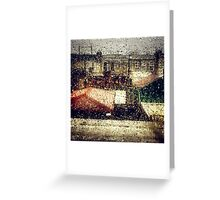 Rain Water Greeting Card