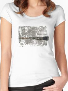 Paintbrush Women's Fitted Scoop T-Shirt