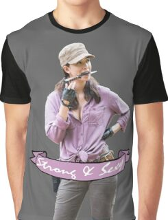 Rosita - Strong and Sexy Graphic T-Shirt