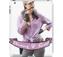 Rosita - Strong and Sexy iPad Case/Skin