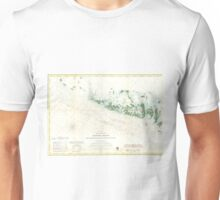 Vintage Map of The Florida Keys (1859) 2 Unisex T-Shirt