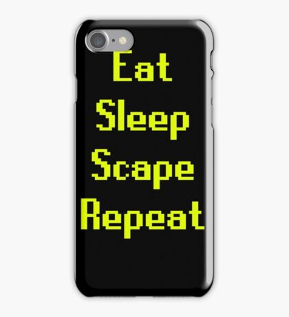 Eat, Sleep, Scape, Repeat. iPhone Case/Skin