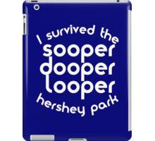 sooper dooper looper iPad Case/Skin