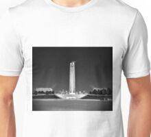 Liberty Memorial, Kansas City, Missouri, BW Unisex T-Shirt