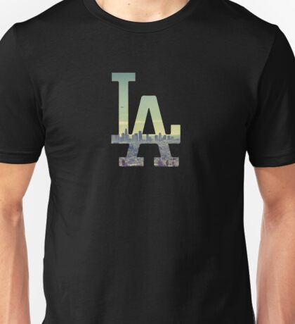 LA Dodgers Black Renewed Unisex T-Shirt