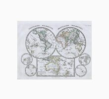 Vintage Map of The World (1862) Unisex T-Shirt