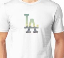 LA Dodgers White Renewed Unisex T-Shirt