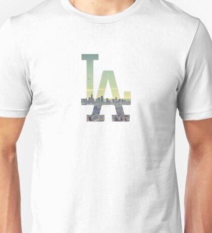 LA Dodgers White Renewed Unisex T-Shirt