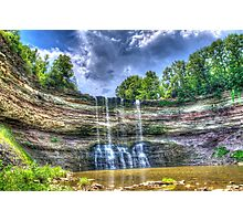 Vibrant waterfall Photographic Print