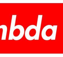 Lambda Chi Supreme Sticker