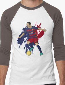 Iniesta Men's Baseball ¾ T-Shirt