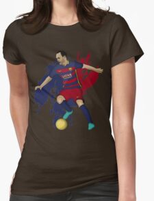 Iniesta Womens Fitted T-Shirt
