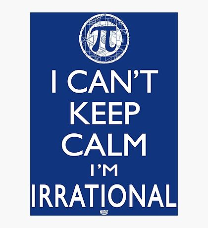 Irrational Pi Day Photographic Print