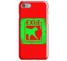Shrodinger's cat iPhone Case/Skin