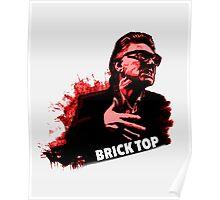 Brick Top T-Shirt  Poster