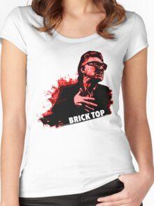Brick Top T-Shirt  Women's Fitted Scoop T-Shirt