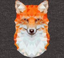 Low-poly Geometric Fox Unisex T-Shirt