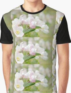 Soft freshness of apple blossom Graphic T-Shirt