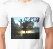 Dawn Light and Trees Unisex T-Shirt