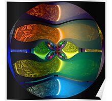 Neon Sphere Poster