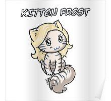 Kitten Frost Poster